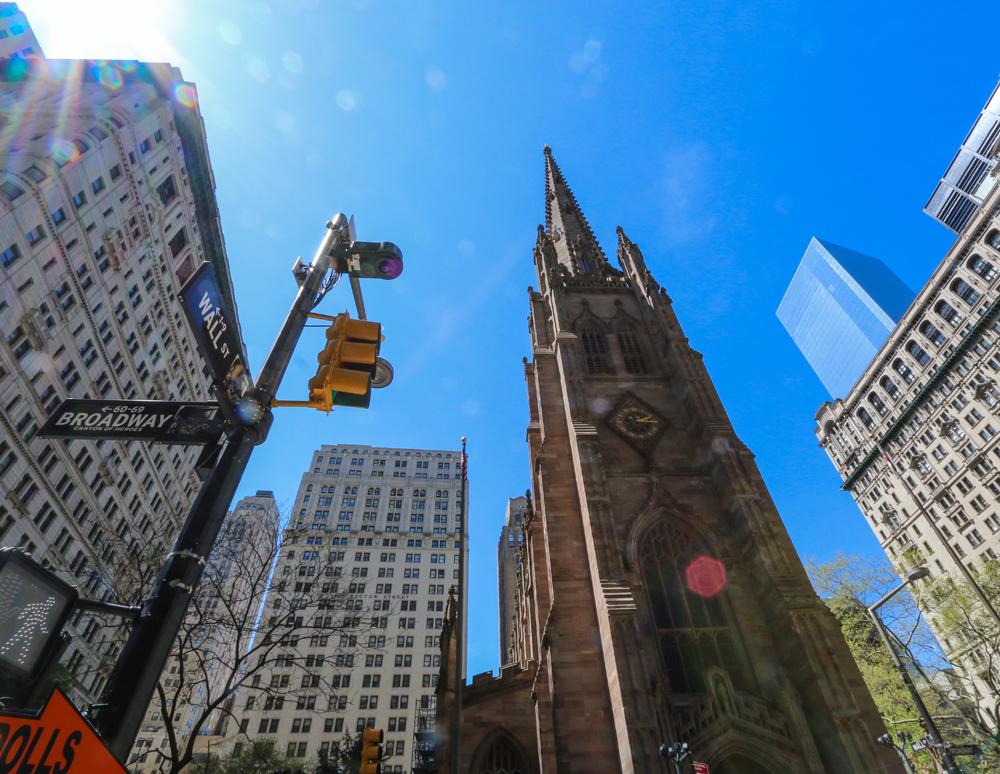 NYC, Wall Street Broadway