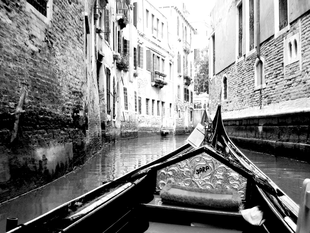 Venise, Gondole dans les canaux