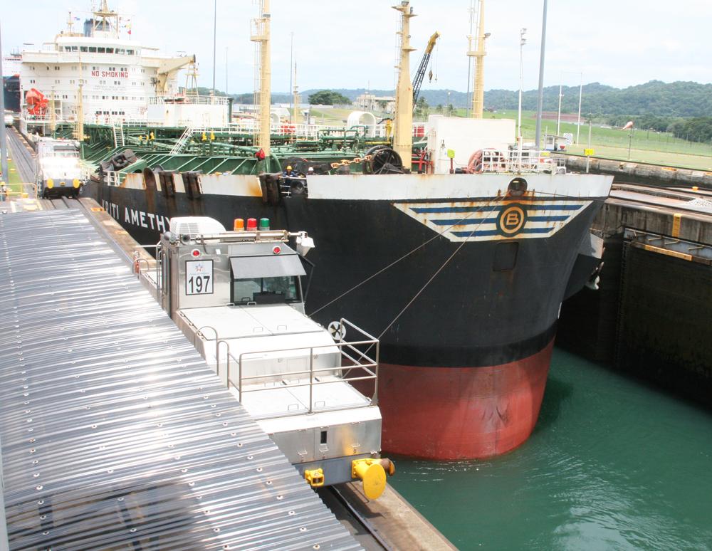 Panama, Gatun Locks, Canal du Panama