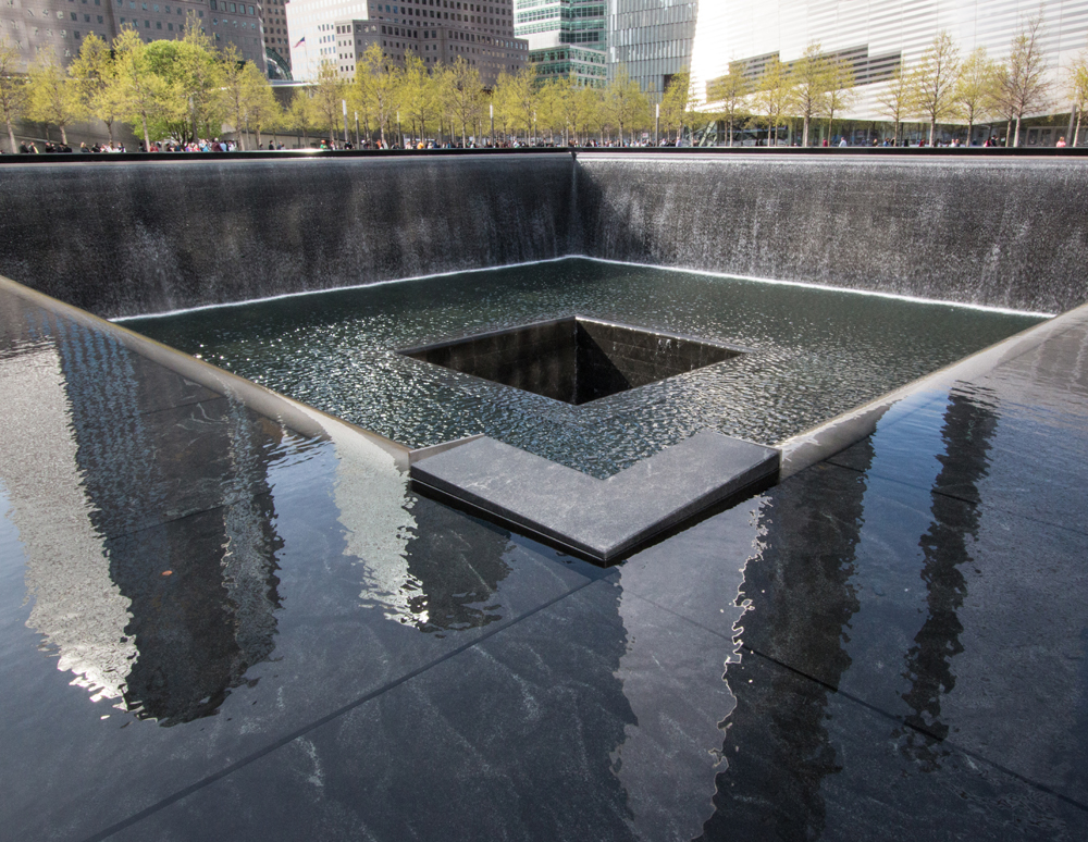 New York, 911 Memorial, Ground Zero