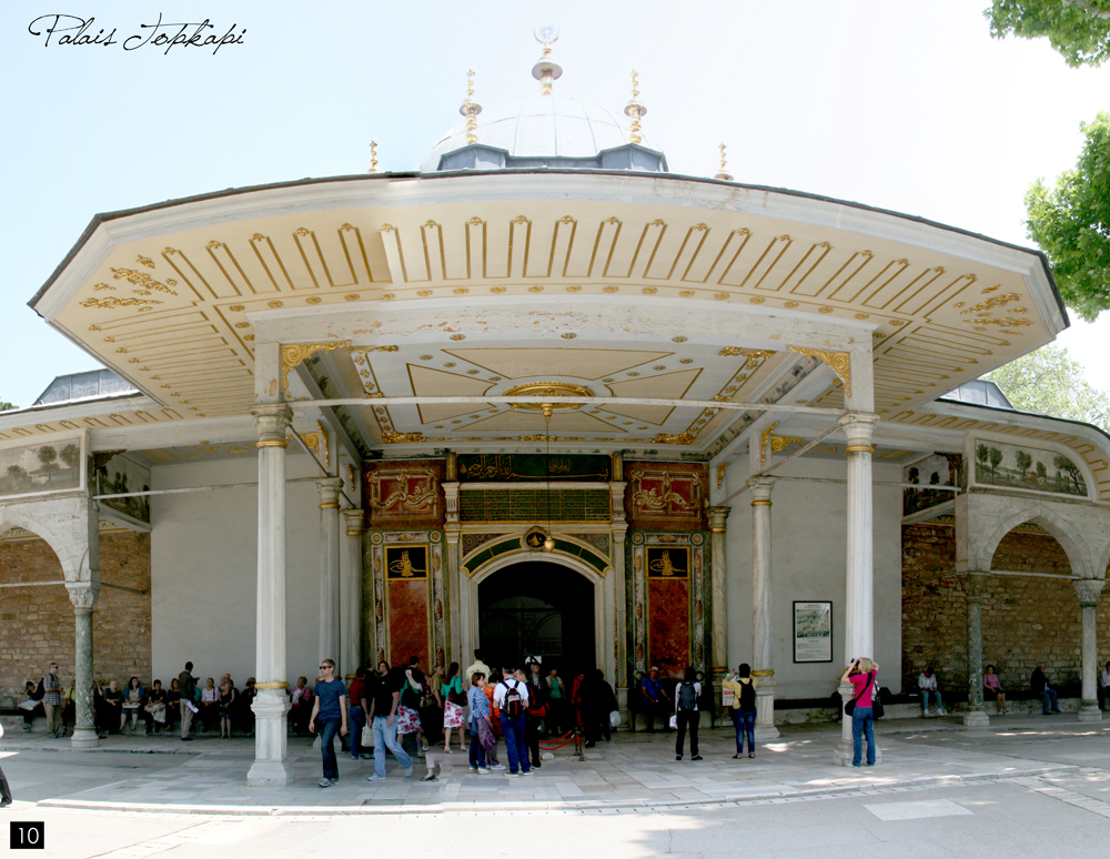 Istanbul, Palais Topkapi
