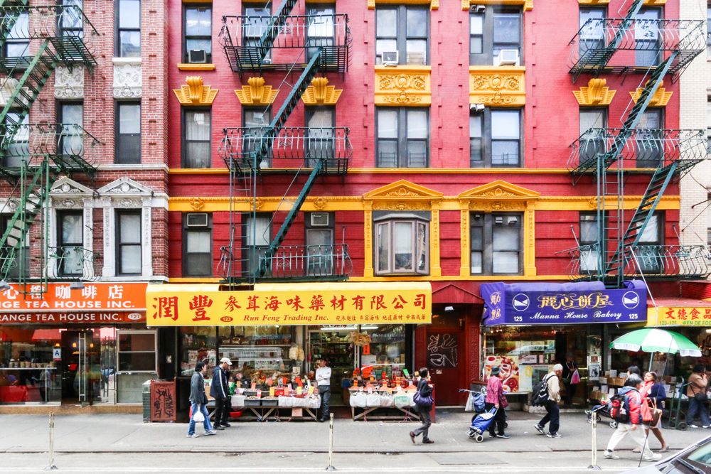 New York, Chinatown