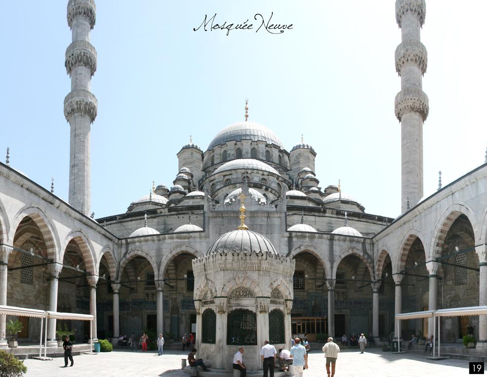 Istanbul, Mosquee Neuve