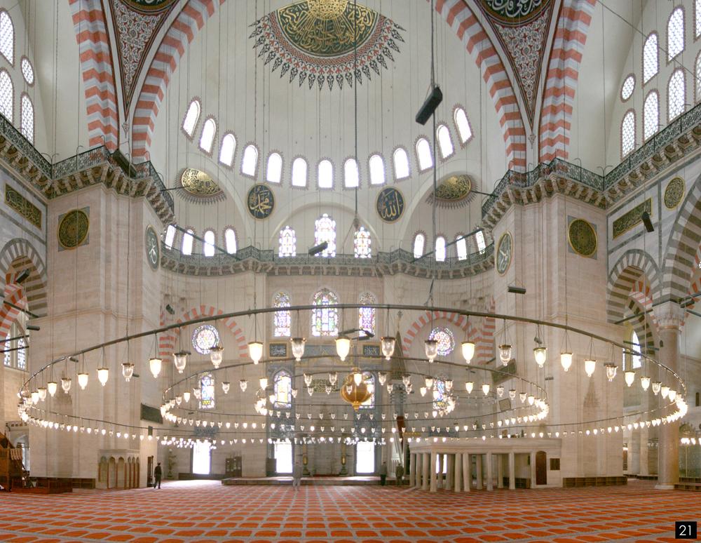 Istanbul, Mosquee Soliman le Magnifique