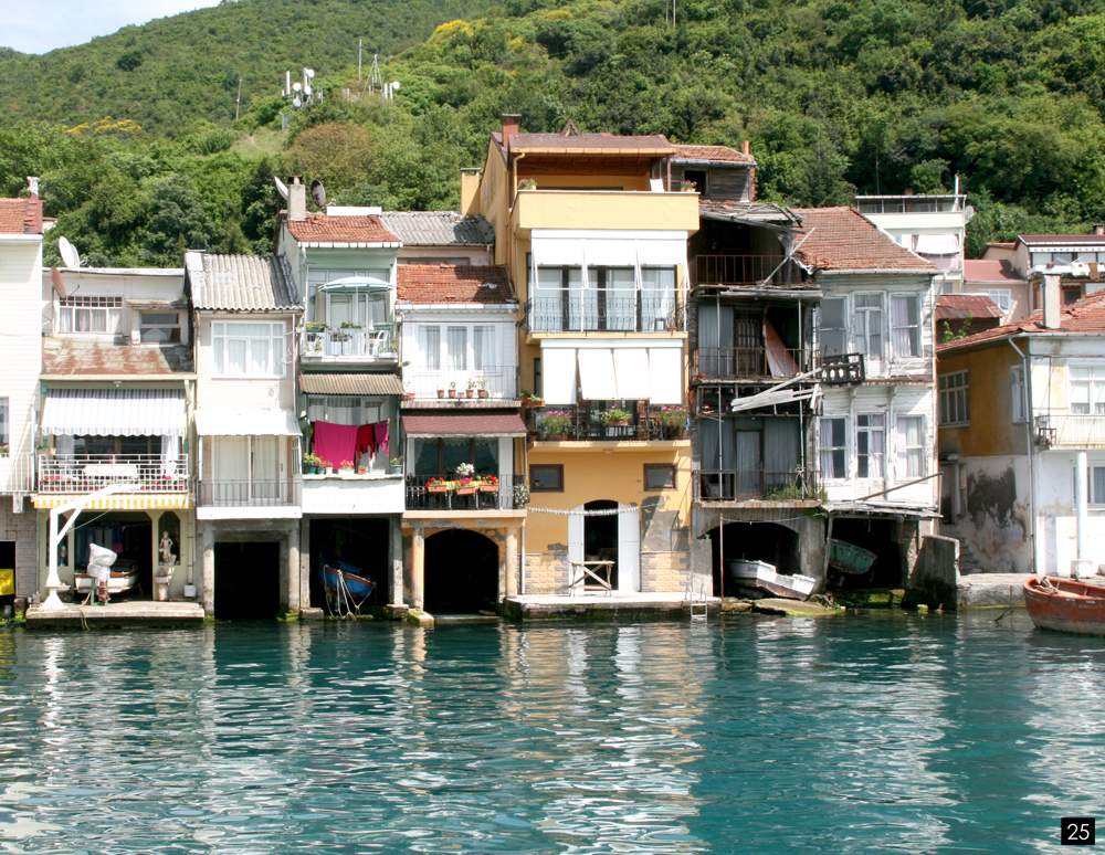 Istanbul, ballade en bateau sur le Bosphore