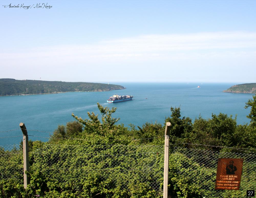 Istanbul, ballade en bateau sur le Bosphore avec vue sur la mer Noire