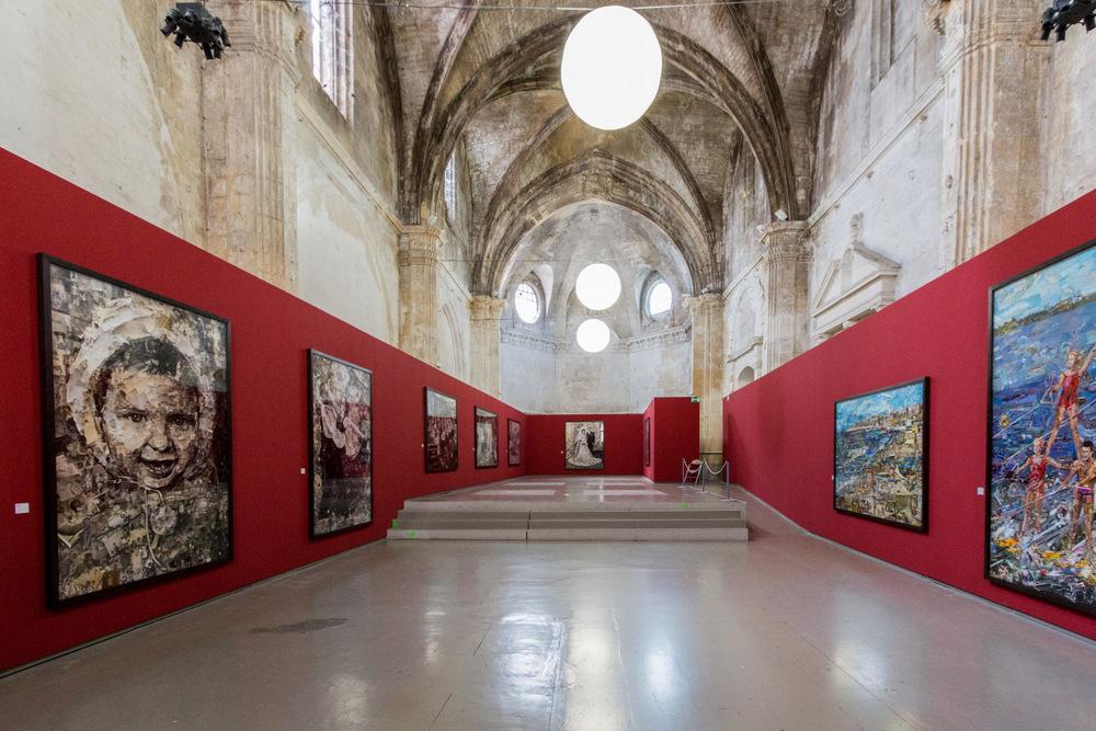 Vik Muniz, Église des Trinitaires, Arles