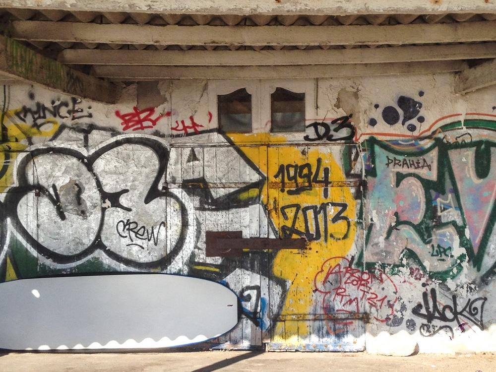 Cabanon Marseille, Graphitis