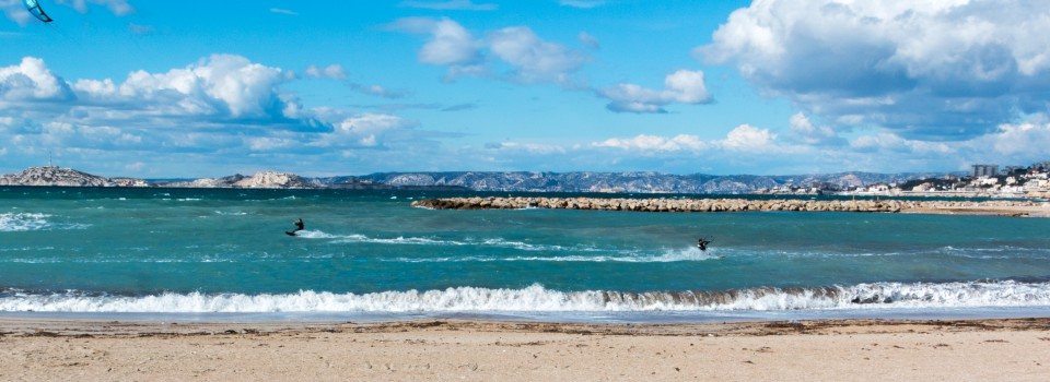 Kitesurf, Marseille