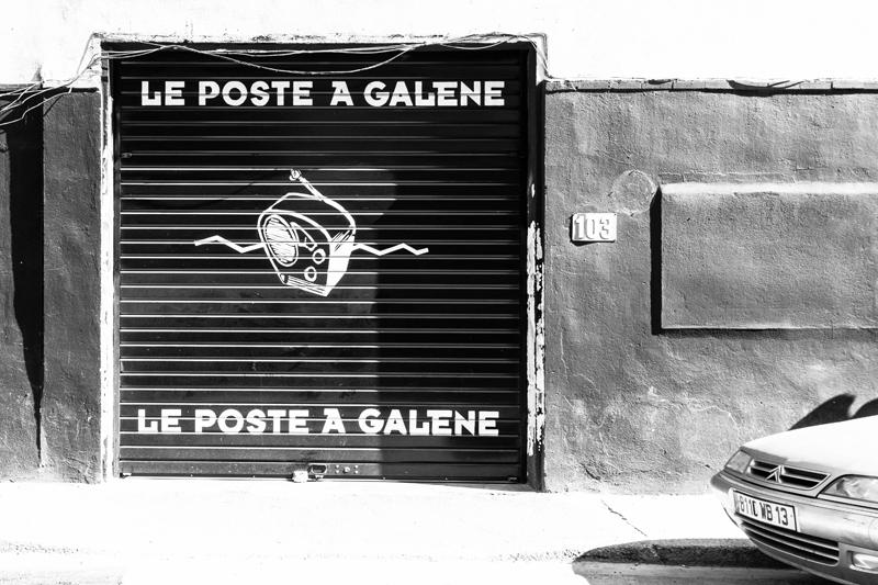 Poste à Galène