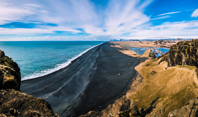Islande Dyrhólaey