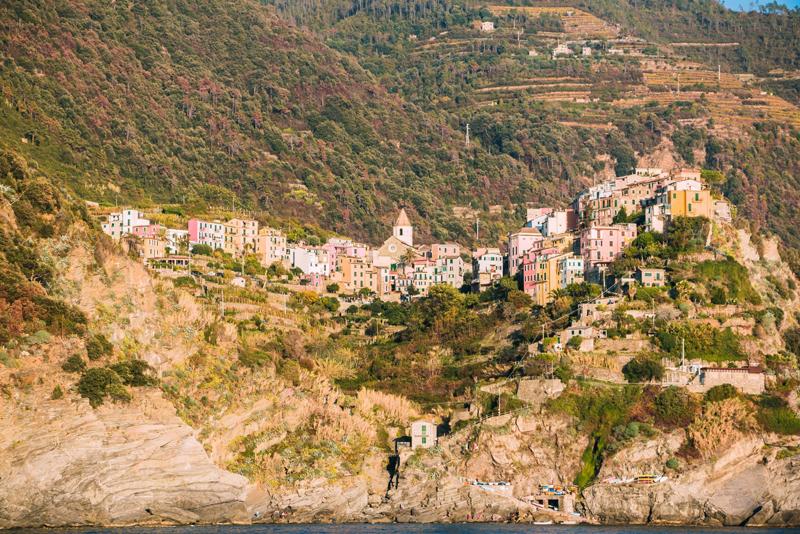 Corniglia, Cinque Terre, Italie