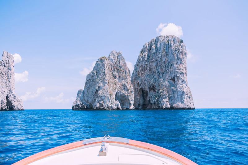 Capri, Les Faraglioni