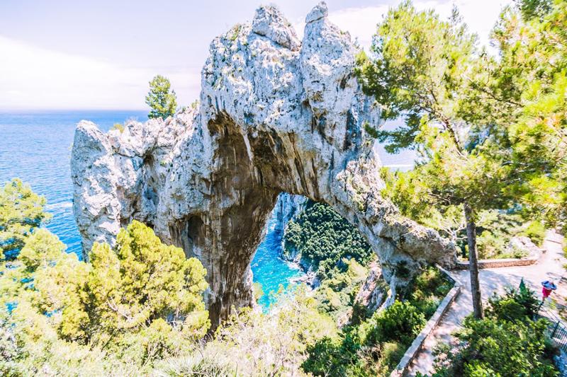 Capri, Arche Naturelle