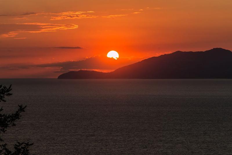 Capri, Couché de soleil Anacapri