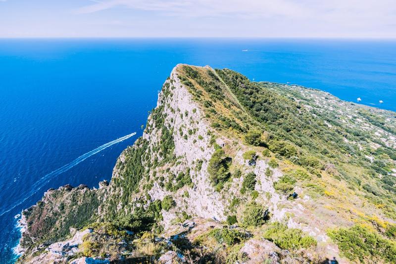 Capri, vue du Mont Solaro