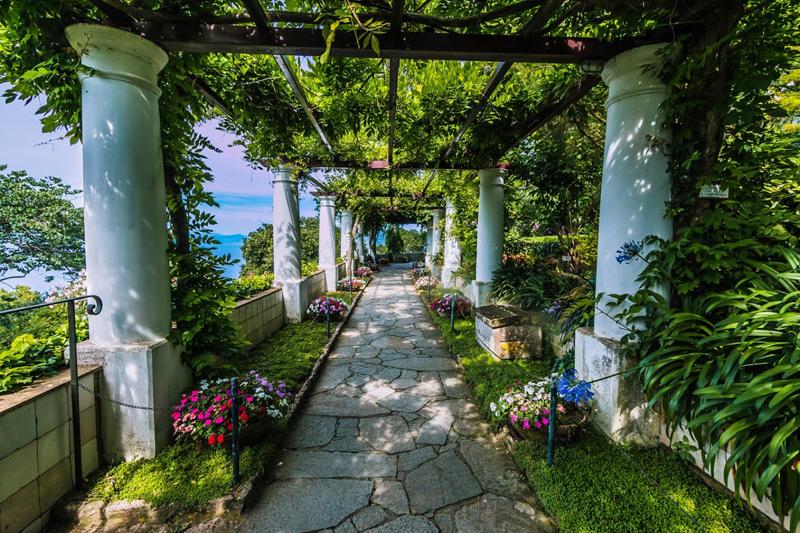 Capri, Villa San Michele